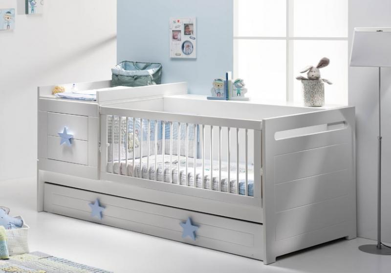 Decora la habitaci n de tu beb con banak importa el - Habitacion convertible bebe ...