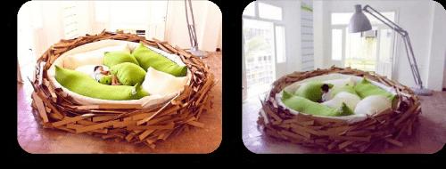 cama nido realista