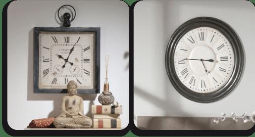relojes de estilo colonial