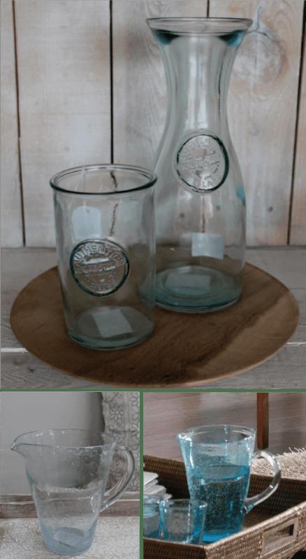 Jarras cristal