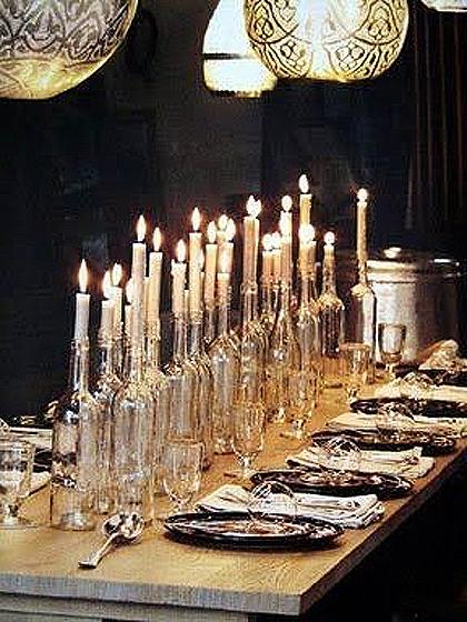 mesa velas
