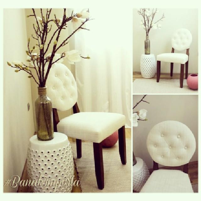 Una #silla con #personalidad y #elegancia. Combinala en cualquier #ambiente o con otros modelos de sillas en tu #comedor... qué os parece? #banakimporta #decoracion #decoracióndeinteriores #design #home #interiorismo #designdeinteriores #homedecor