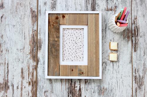 marco de fotos madera