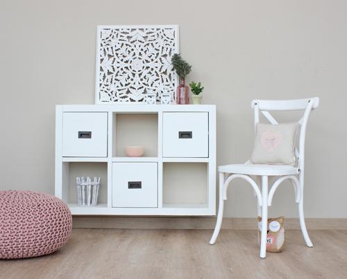silla abad y riga blanca