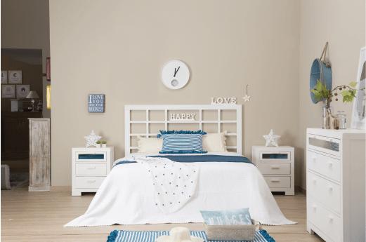 La naturalezza e la freschezza regnano nelle camere da letto Banak Importa