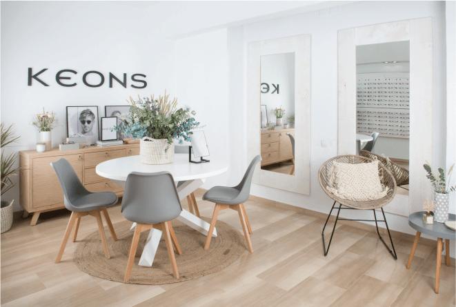 Keons, nova óptica: um novo projecto integral de decoração #Banak360