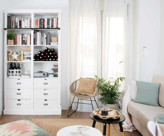 Transformamos um pequeno apartamento numa casa de sonho